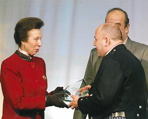 HRH Princess Anne & Managing Director, Alasdair Ferguson